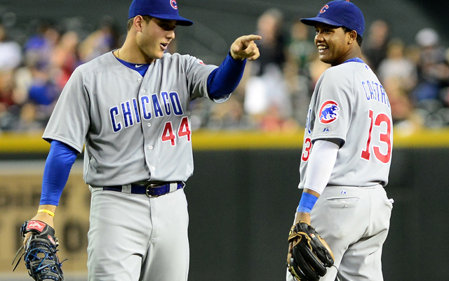 Cubs cornerstones Anthony Rizzo and Starlin Castro are both having bounce-back seasons.