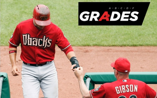 Kirk Gibson's Diamondbacks earned a high mark for this week's work.