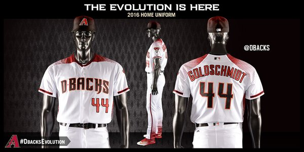 purchase cheap 64c37 89807 LOOK: Diamondbacks unveil seven new uniforms for 2016 ...