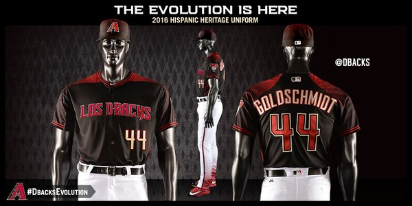 purchase cheap 30d68 e53b4 LOOK: Diamondbacks unveil seven new uniforms for 2016 ...