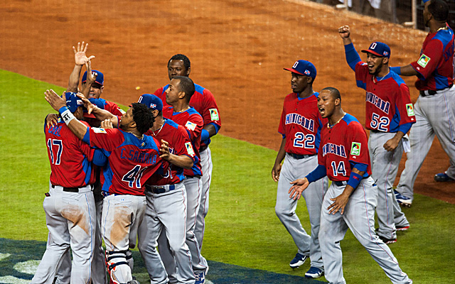 World Baseball Classic Dominican Republic USA