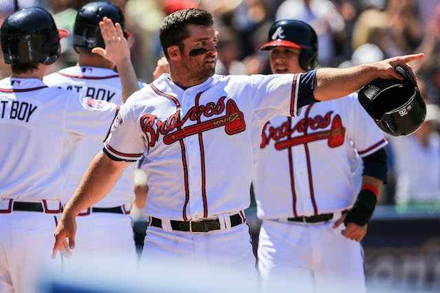 Dan Uggla's long 2014 season just got longer. (USATSI)