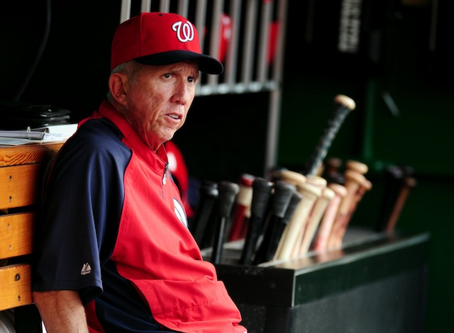 According to his boss, Davey Johnson's job is safe. (USATSI)