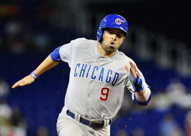Outfielder David DeJesus is bound for D.C.(USATSI)