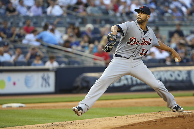 David Price's Tigers debut wasn't out of character, in some respects. (USATSI)