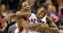 DeMar DeRozan, Kyle Lowry (Getty Images)