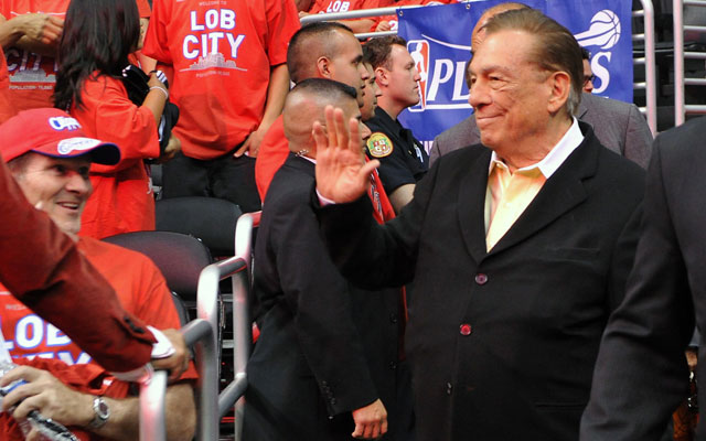 Donald Sterling was set to receive an NCAA award.  (USATSI)