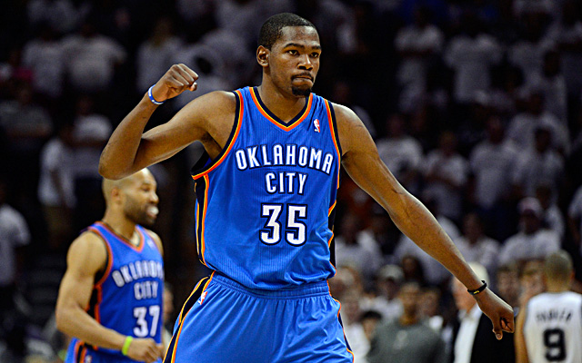 Kevin Durant inks another sponsor.  (USATSI)