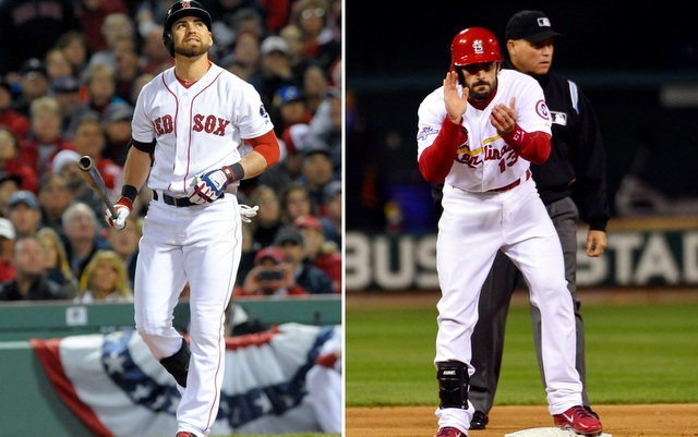Matt Carpenter and Jacoby Ellsbury are set to lead things off.