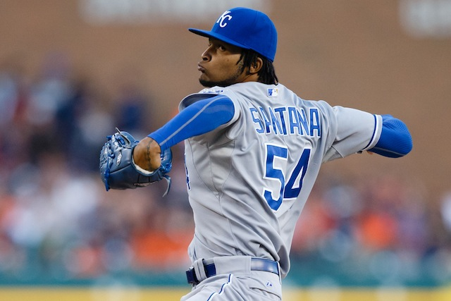 Do recent events mean that Ervin Santana would be a fit in Atlanta? (USATSI)