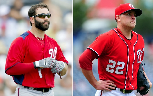 Danny Espinosa (left) and Drew Storen have been generating interest.