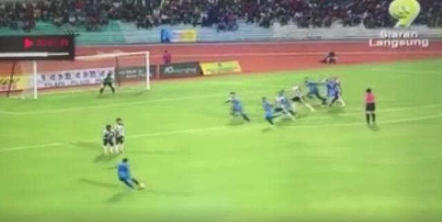 Mohd Faiz Subri's Extraordinary Goal May Bring Luck`