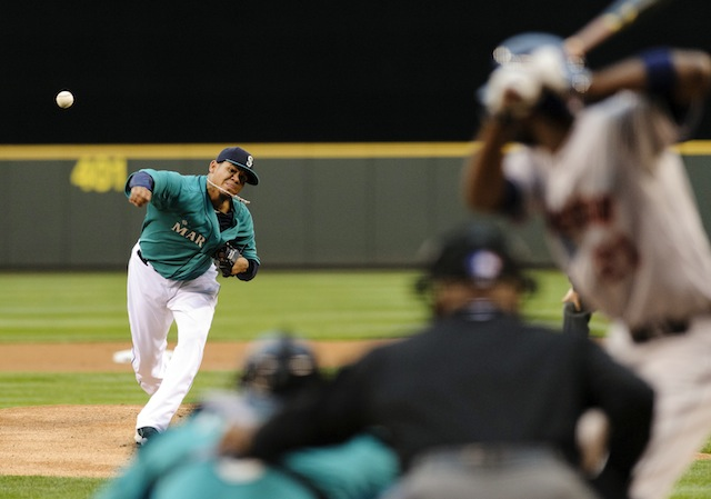 How do you work around a declining fastball? Just ask King Felix. (USATSI)