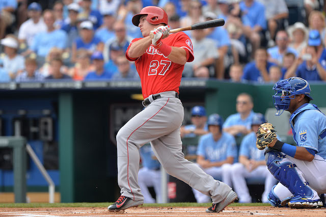 It's time for some first-half awards, and, yes, Mike Trout is involved. (USATSI)