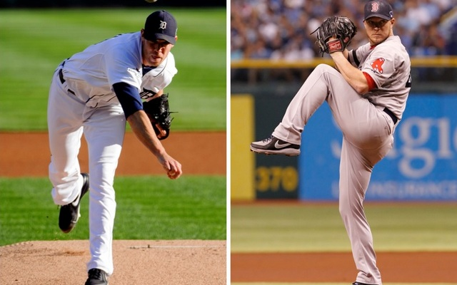 Behind Doug Fister (left), the Tigers will look to even up the ALCS in Game 4.