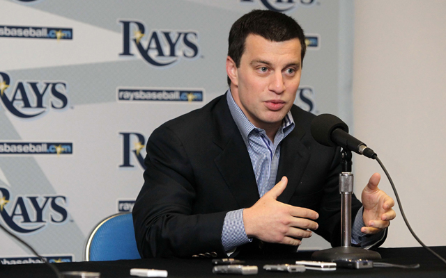 Andrew Friedman has left the Rays to join the Dodgers.