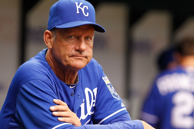 Cheer up, George Brett: You're absolutely on the Royals all-time single-season team. (USATSI)