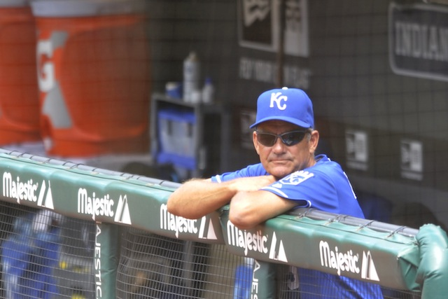 George Brett's stint as KC hitting coach wasn't a long one. (USATSI)