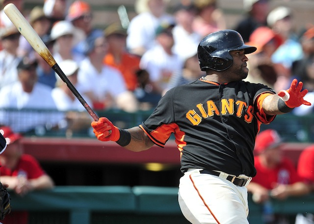 What kind of numbers are we laying on Pablo Sandoval and Giants for 2014? (USATSI)