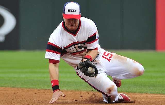 Gordon Beckham will be taking his nifty glove from Chicago to Anaheim. (USATSI)