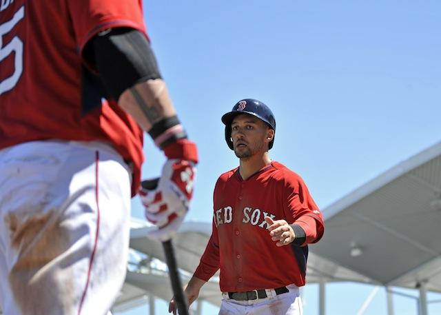 Give him five: Grady Sizemore has won the starting center fielder's job in Boston. (USATSI)