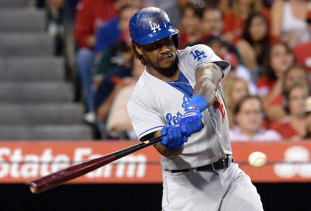 The Dodgers will be without the big bat of Hanley Ramirez for a while. (USATSI)