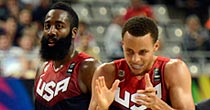 James Harden, Stephen Curry (Getty Images)