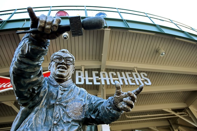 As we all suspected, Harry Caray knew a thing or two about having a good time. (USATSI)