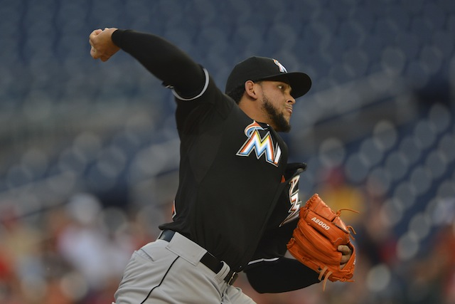 Elbow woes for Henderson Alvarez? (USATSI)