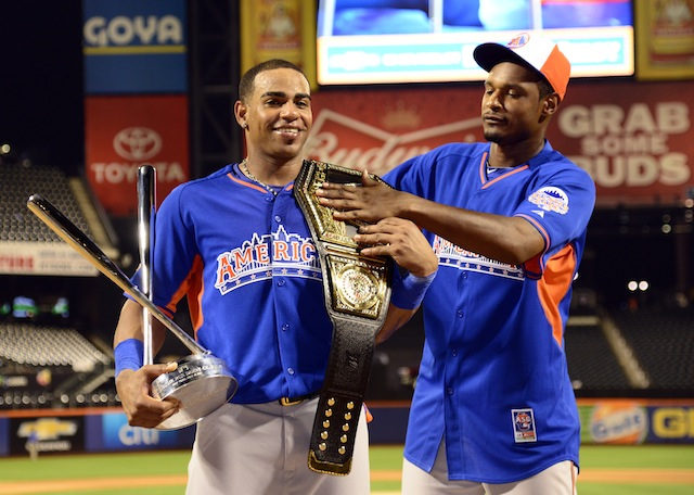 Listen up, Yoenis Cespedes and Adam Jones: The Derby rules are different now. (USATSI)