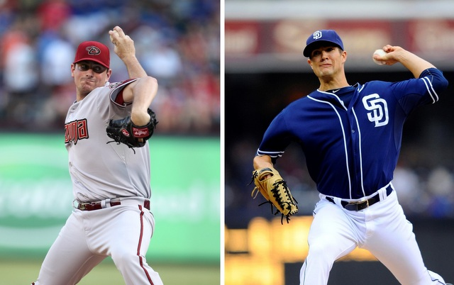 Daniel Hudson (l.) and Cory Luebke are two other Tommy John surgery failure stories.
