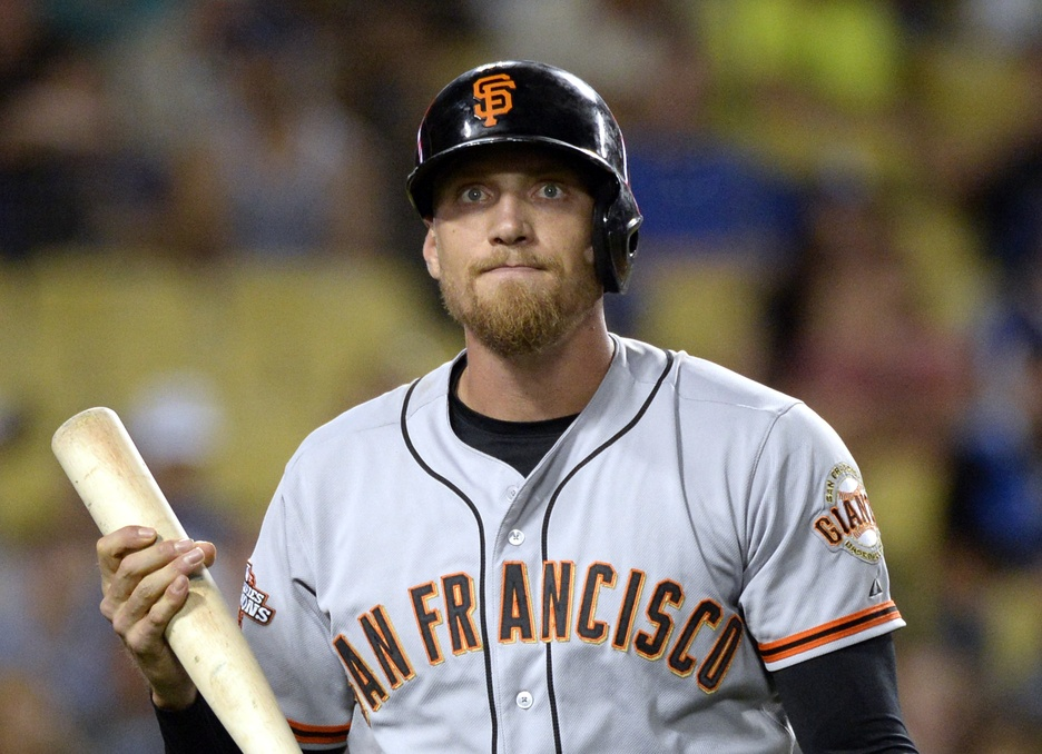 Hunter Pence nearly learned in an awkward way that the Giants traded him: through Twitter.