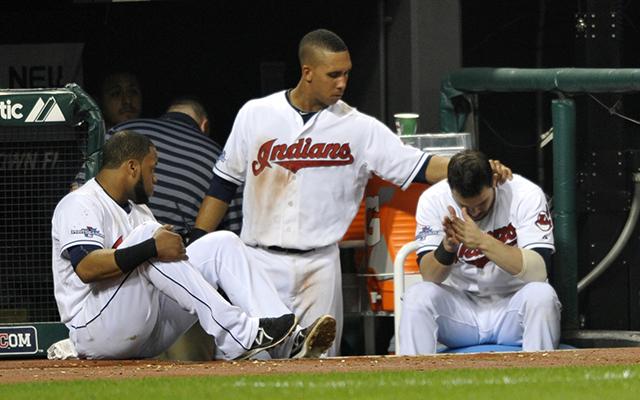 It was a long, frustrating night for the Cleveland bats. (USATSI)