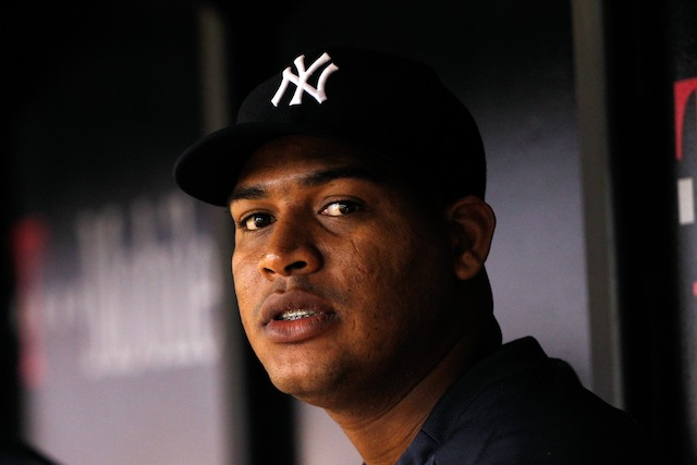 The Yankees' Ivan Nova will miss the remainder of the 2014 season. (USATSI)