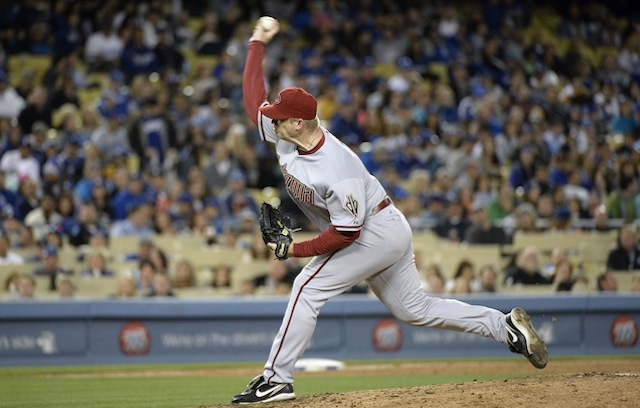 J.J. Putz's day with the Diamondbacks appear to be over. (USATSI)