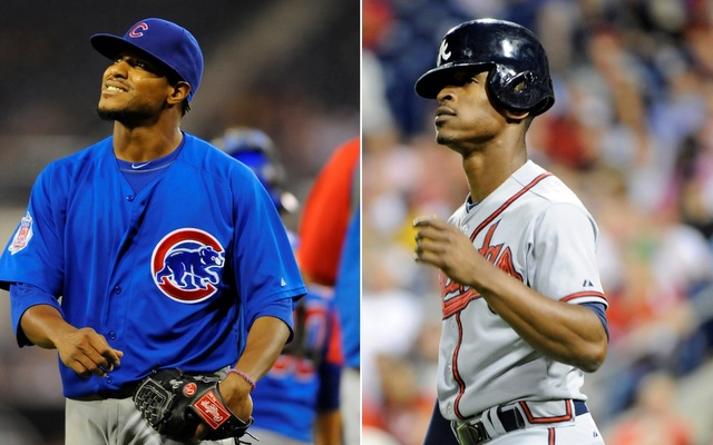 Edwin Jackson and B.J. Upton are two players their teams wish they could return one year later.