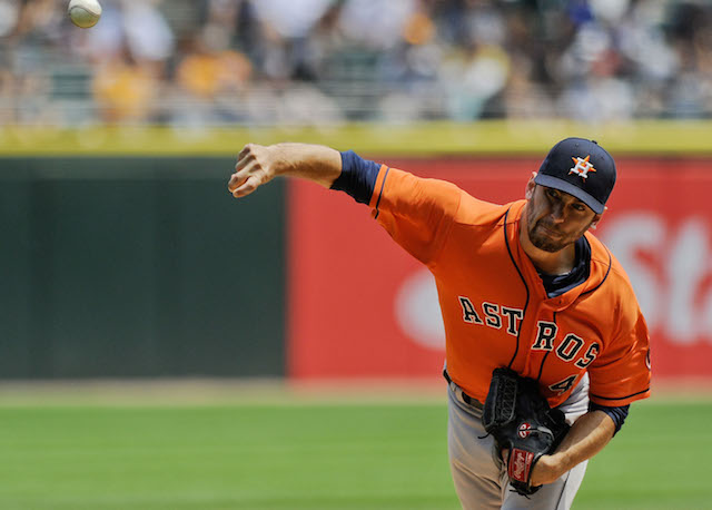 Jarred Cosart is headed to Miami as part of a six-player deal. (USATSI)