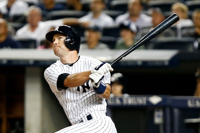 The Yankees will be without infielder Jayson Nix for perhaps the rest of the season. (USATSI)