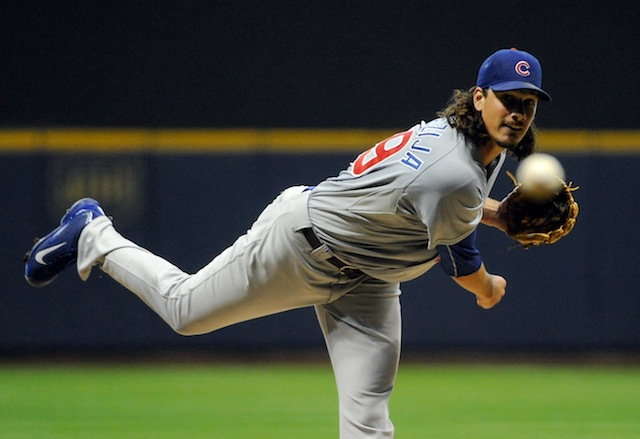 Will Jeff Samardzija be plying his trade in Atlanta next season? (USATSI)