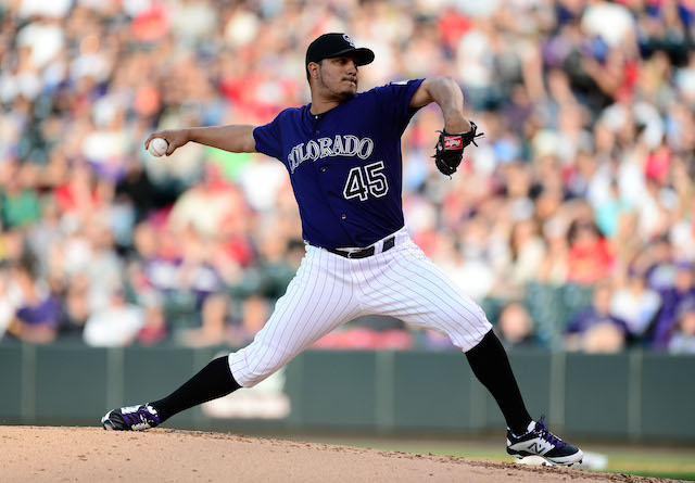 It's more shoulder problems for Rockies right-hander Jhoulys Chacin. (USATSI)
