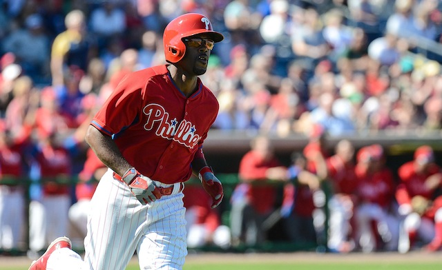 To hear Jimmy Rollins tell it, the trade talk can cease. (USATSI)