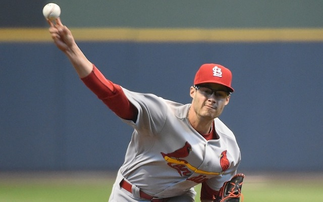 Joe Kelly's start against the Brewers on Wednesday didn't end as planned. (USATSI)