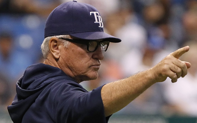 Joe Maddon maintains the proper perspective on the realities of managing a very small-market team.