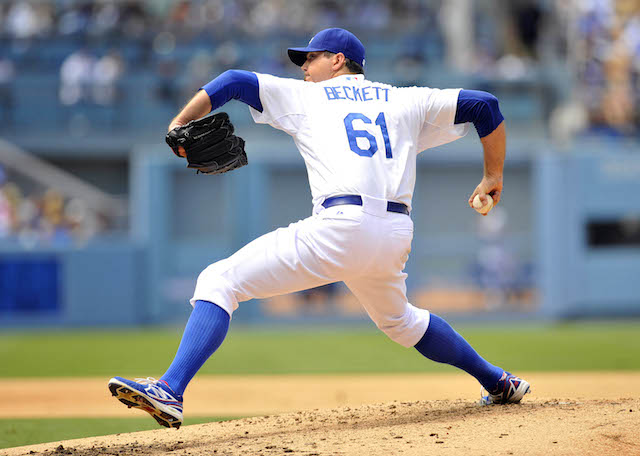 We may not see any more of Josh Beckett this season. (USATSI)