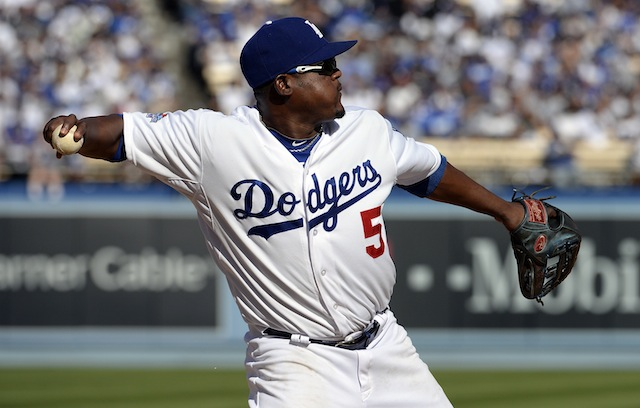 Would Juan Uribe be a fit in Tampa Bay? (USATSI)