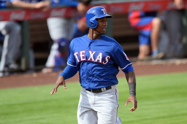 The Rangers are going to be without Jurickson Profar for quite a while. (USATSI)