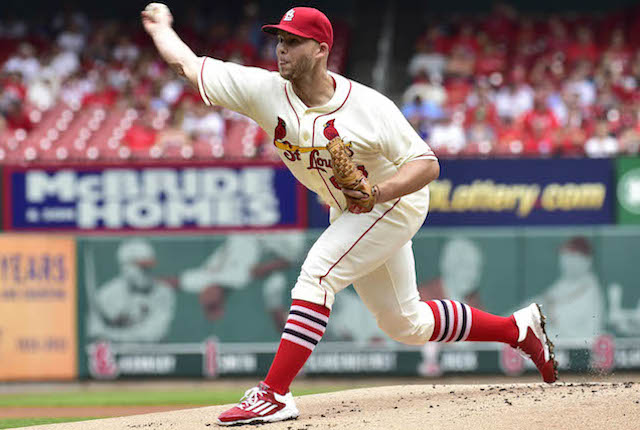 Justin Masterson has pitched his way out of the St. Louis rotation. (USATSI)