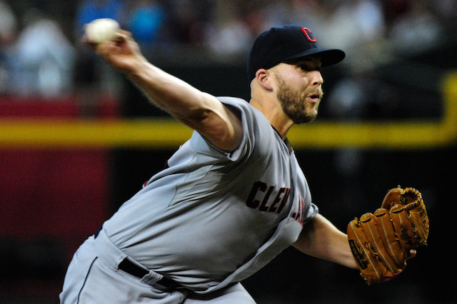 The Indians hoping that a little time off will help Justin Masterson return to form. (USATSI)