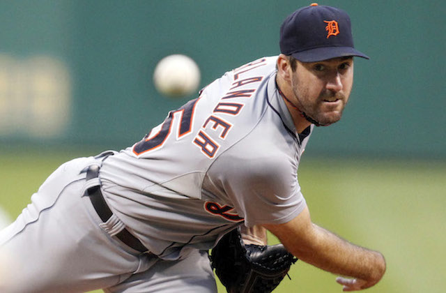 Justin Verlander's start against the Pirates ended on a sour note. (USATSI)