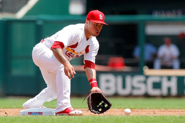 Cardinals rookie Kolten Wong is headed for the DL. (USATSI)